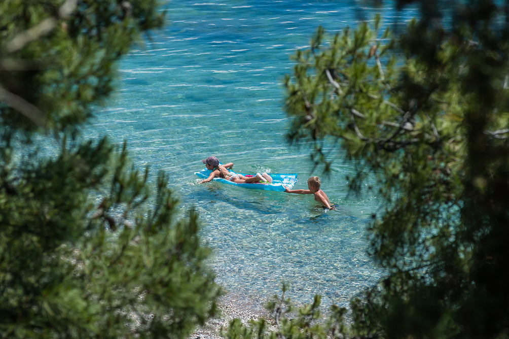 Пляж и море санатория «Форос» 4* в Крыму