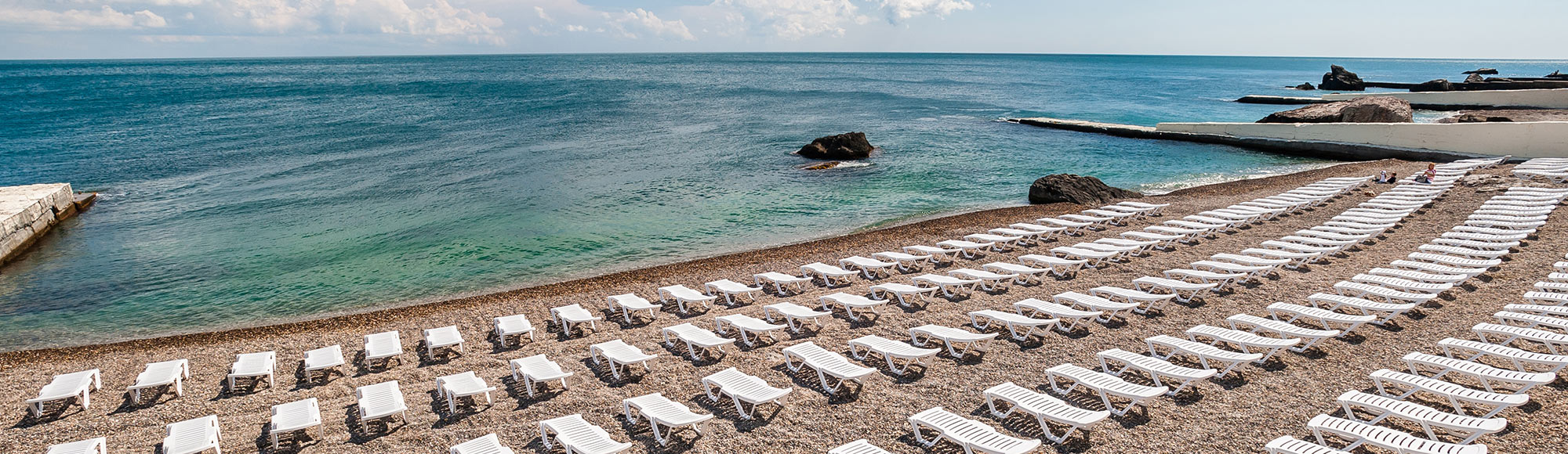 Санаторий Форос. Пляж