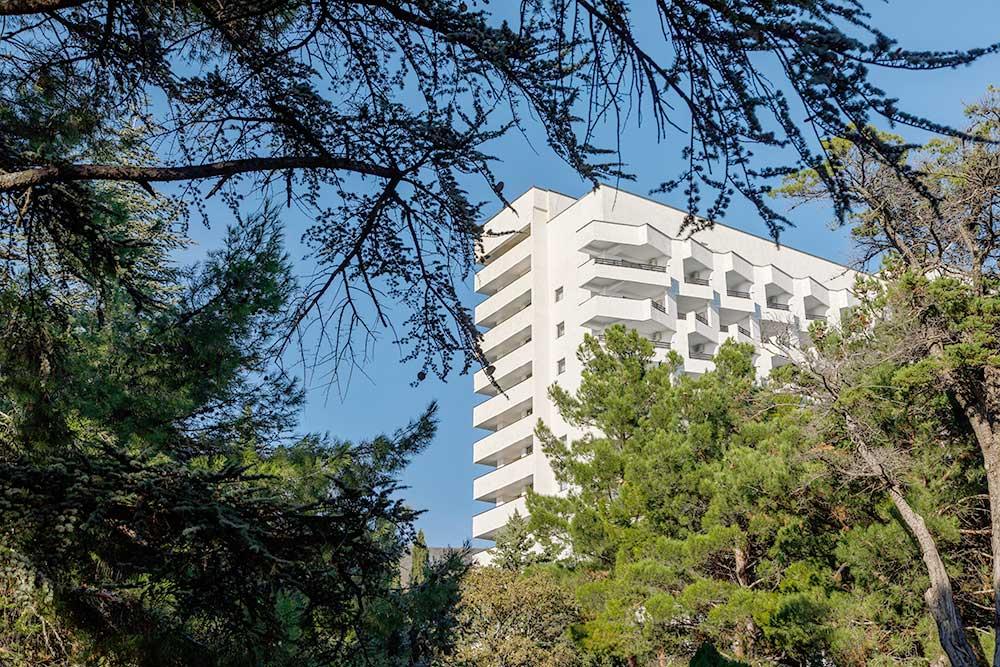 Парковая Территория санатория «Форос» 4* в Крыму