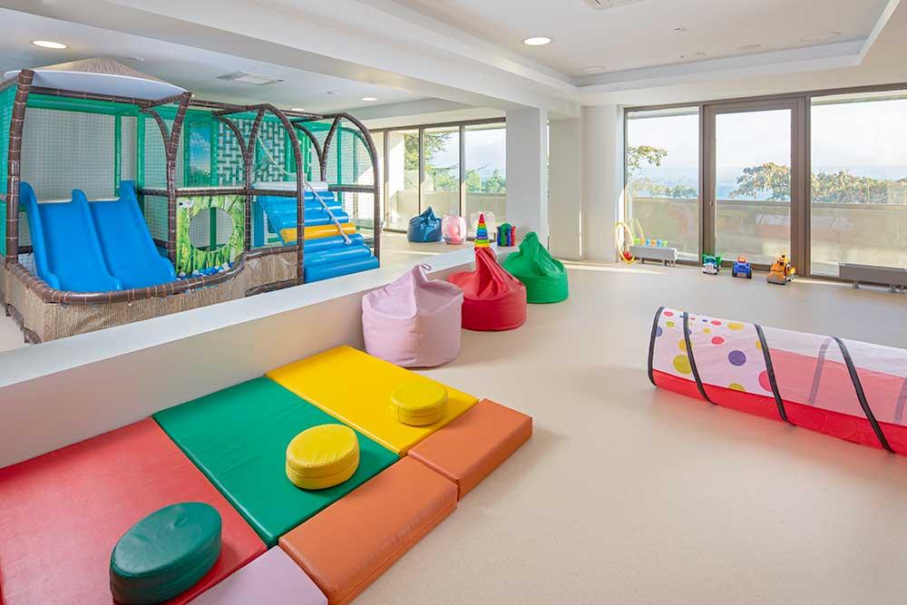 Детская комната на пляже санатория «Форос» 4* в Крыму